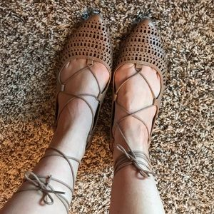 Mossimo by Target brand Lace Up Flats